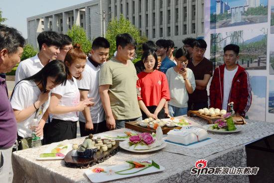山东商职学院举行2017职业教育活动周教学成果展示活动