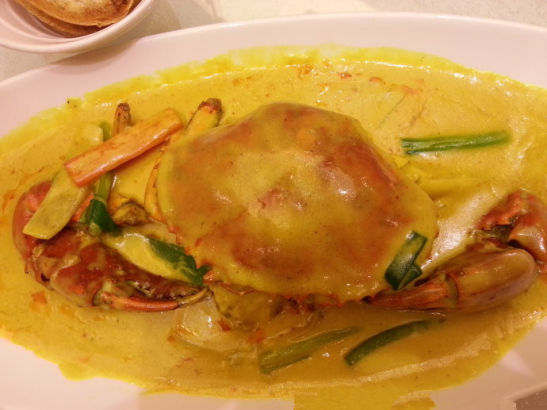 在蕉叶吃泰国菜