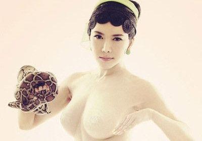 龚玥菲裸身出镜