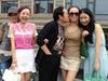 王林与四女轮流吻别
