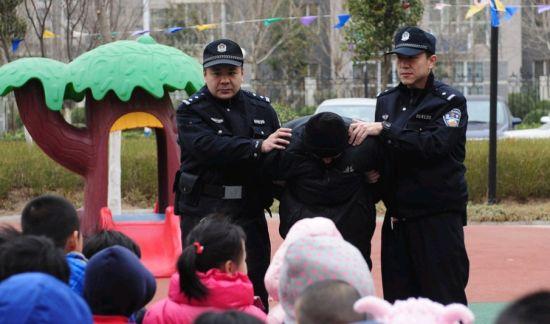 济幼儿园防暴演练