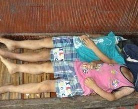 两男童遭捆绑死亡