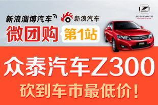 新浪微团购-众泰Z300